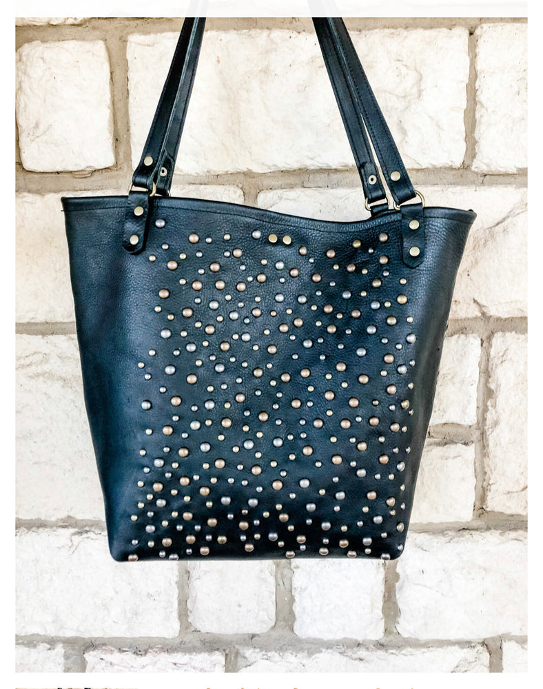 Load image into Gallery viewer, Over Achiever Tote in Midnight