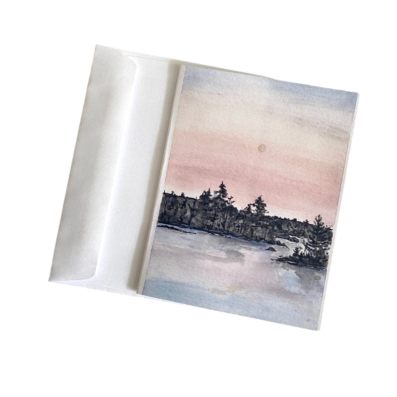 Indie Sunrise Greeting Card