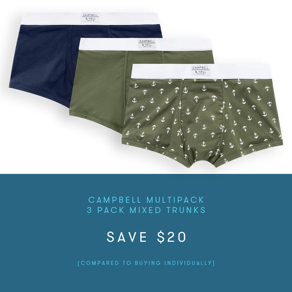 Campbell Trunk Multipack