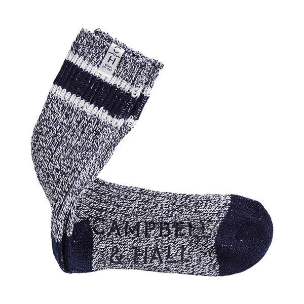 Oakes Sloppy Socks Navy