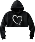 Love It Crop Hoodie