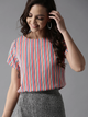 Candy Store Multi-Toned Striped Top
