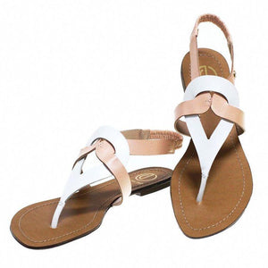Cream and white Colour  Sandal Collection for Women and Girls