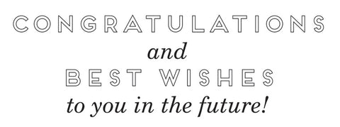 Business Best Wishes Greeting Card Sentiment