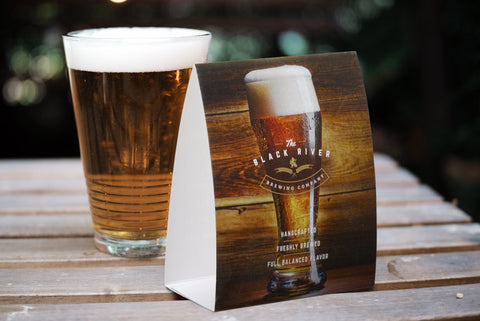 Custom Printed Table Tents for Counter Ads or Calendars