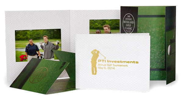Golf Photo Folders for Tournament Pictures
