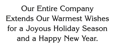 Company Holiday Wishes Business Greeting Card Sentiment