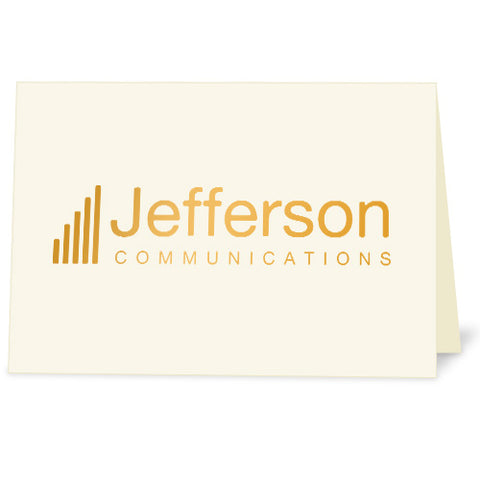 Logo Note Cards for Business Stationery Set