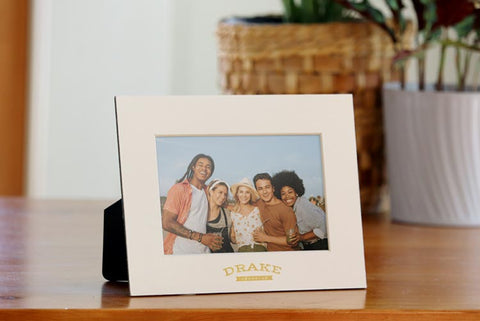 Promotional cardboard picture frames with company logo