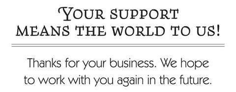 Customer Appreciation Thank You Note Card Message Ideas for Business Owners