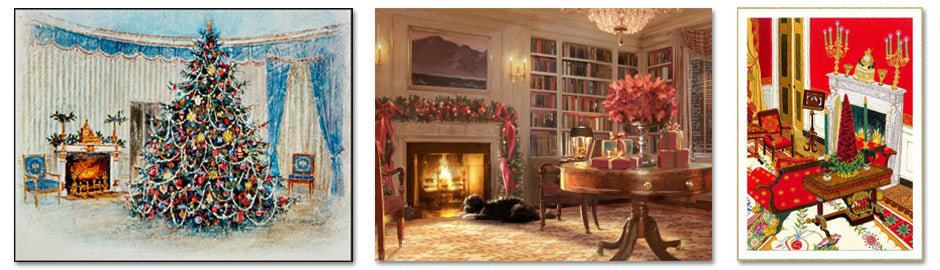 Presidential Christmas Cards from the White House