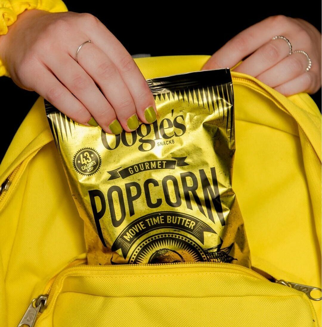 Movie time butter snack size popcorn bag
