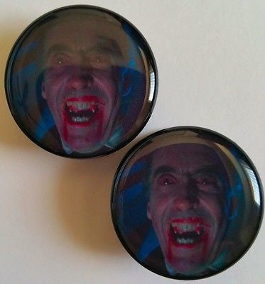 Christopher Lee / Dracula / Vampire Plugs
