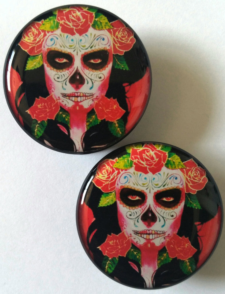 Sugar Skull / Day of the Dead Plugs