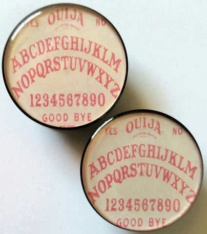 Pink Ouija Board Plugs