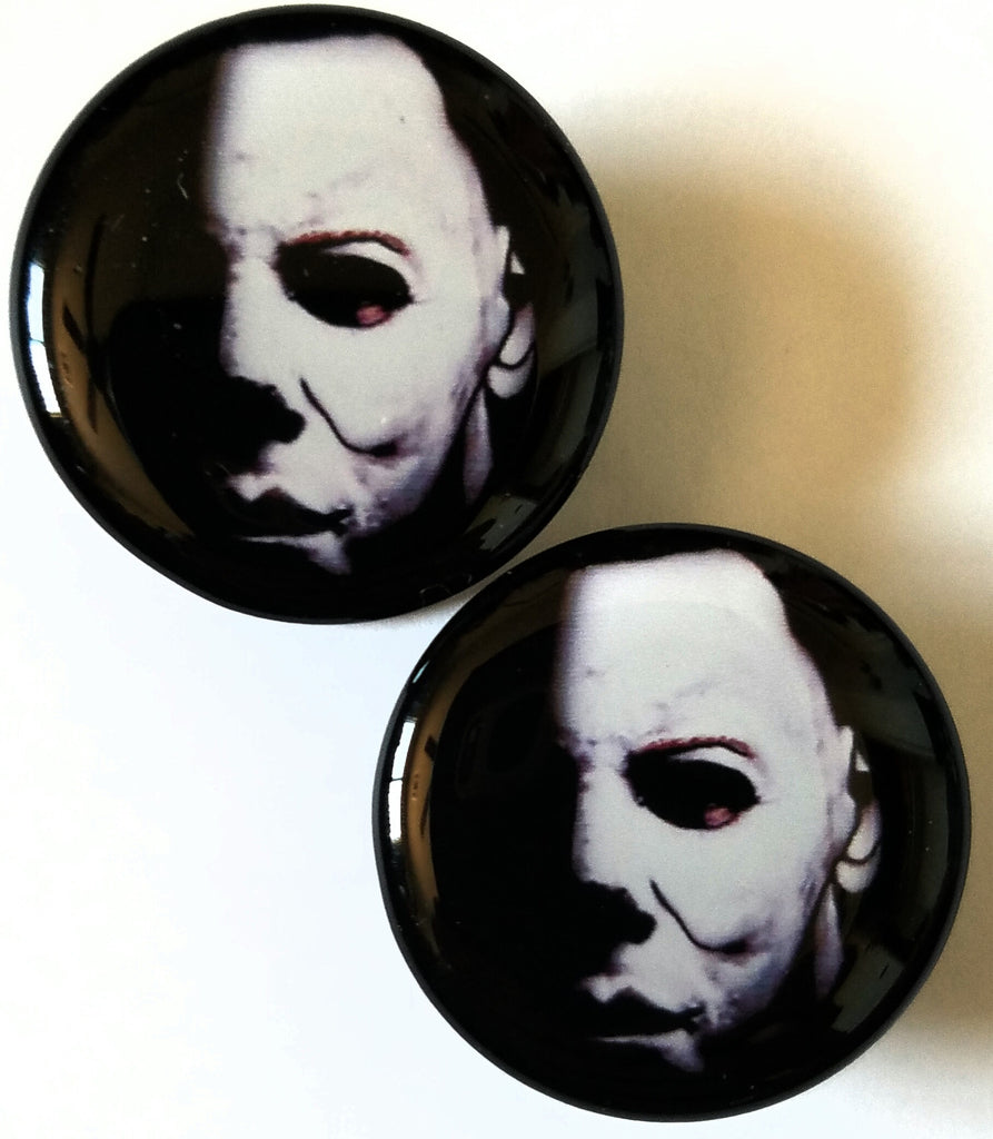Michael with Mask Plugs