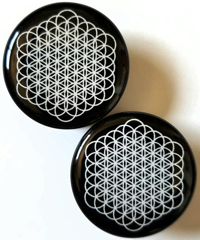 Flower of Life Plugs