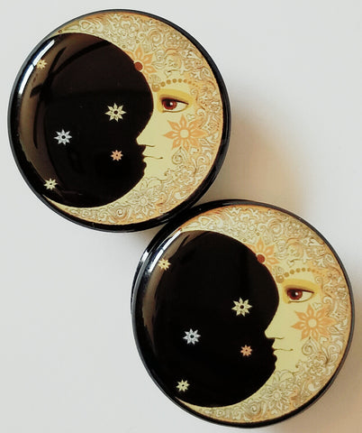Crescent Moon Plugs
