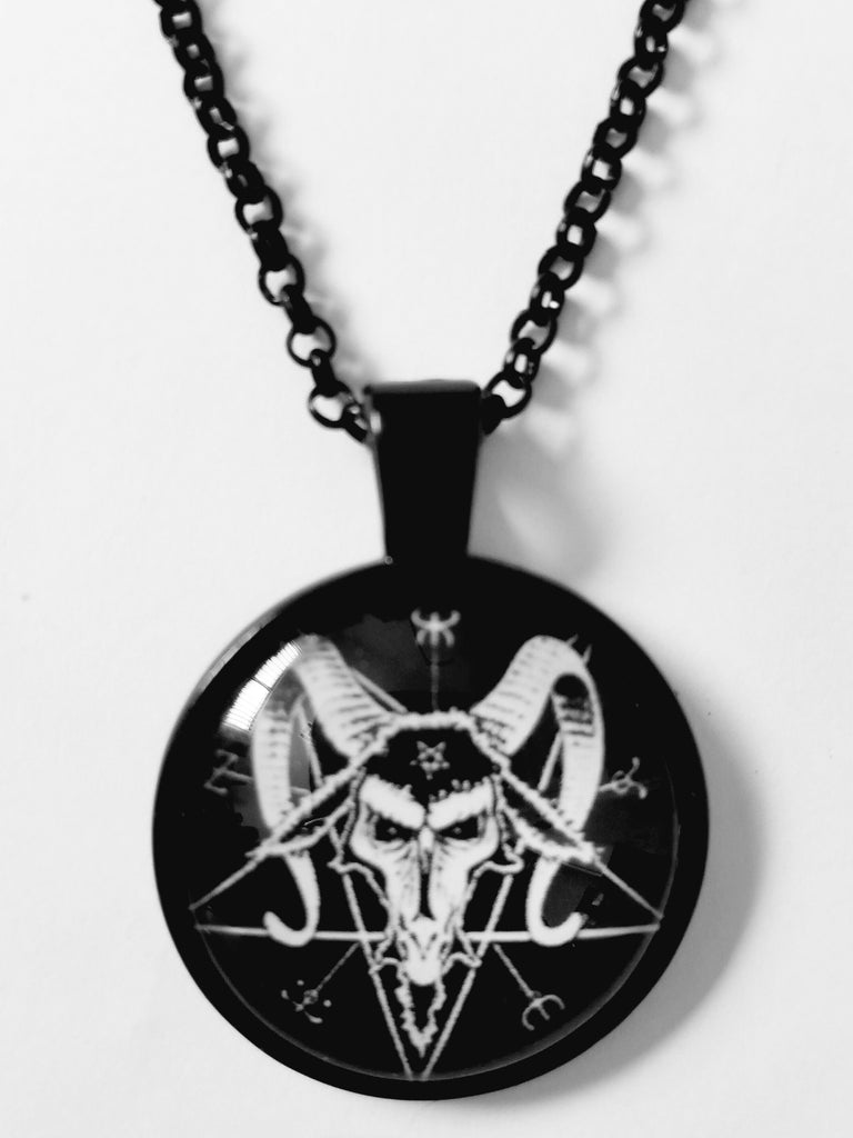 Baphomet Pentagram Necklace