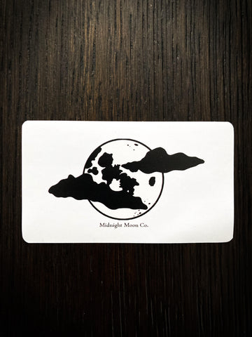 Midnight Moon Co. Vinyl Sticker (3 PC)
