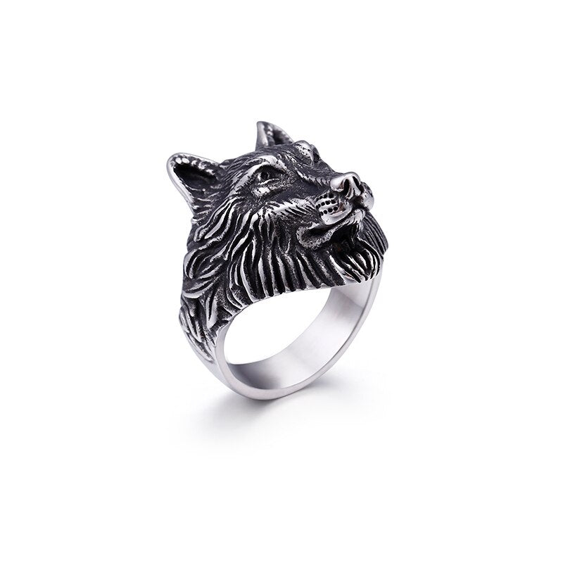 Ring Devil Wolf-100007323-Fearless Jewelry Official