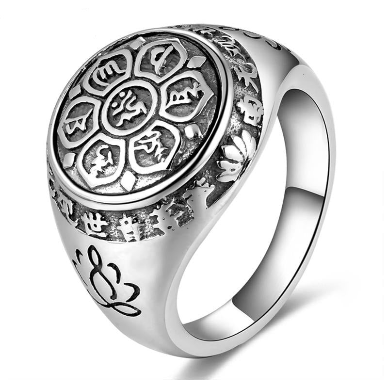 Ring Zen Icon - Silver