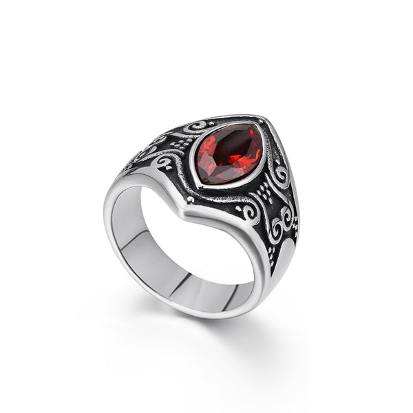 Ring Zircon Devil-100007323-Fearless Jewelry Official