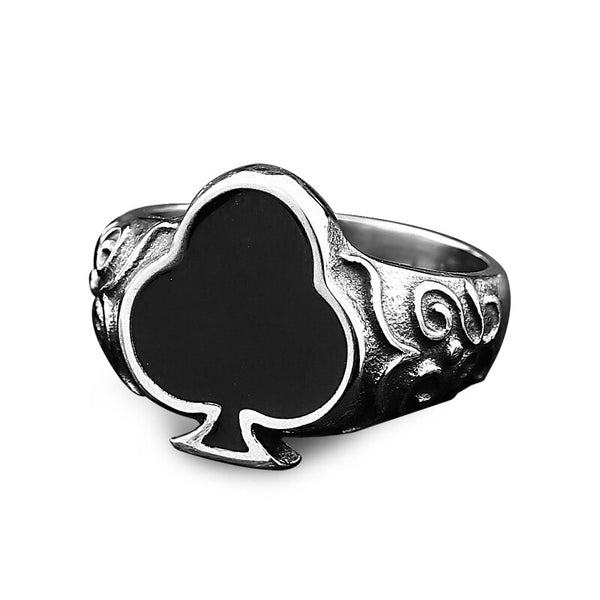 Ring Spades Black