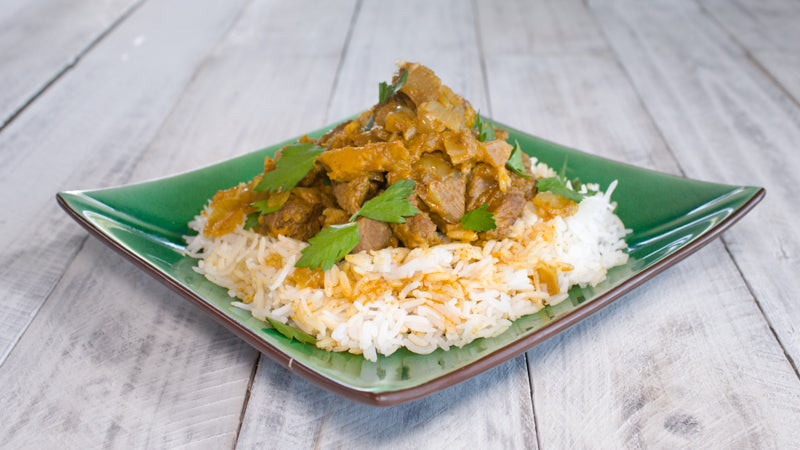 002 - Lamb and Pumpkin Curry