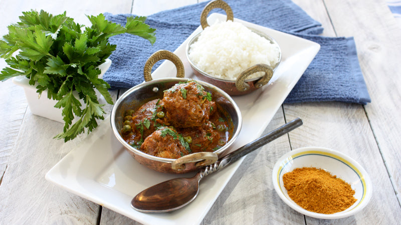 019 - Indian Spiced Meatballs