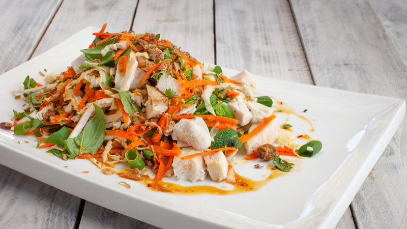 035 - Vietnamese Poached Chicken Salad