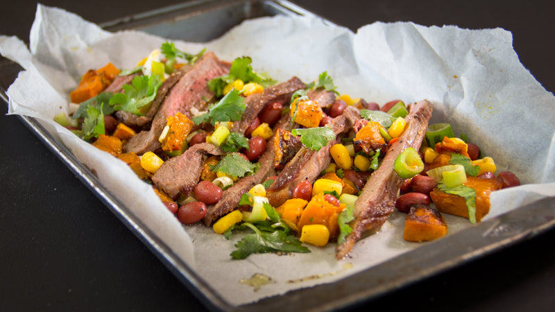 053 - Spiced Steak with Mexican Salsa