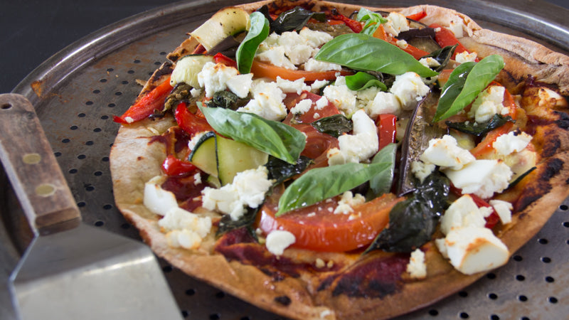 054 - Char Grilled Veggie & Feta Pizza