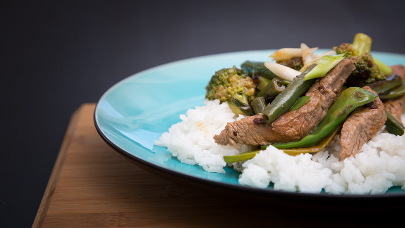 068 - Lamb & Black Bean Stir-Fry