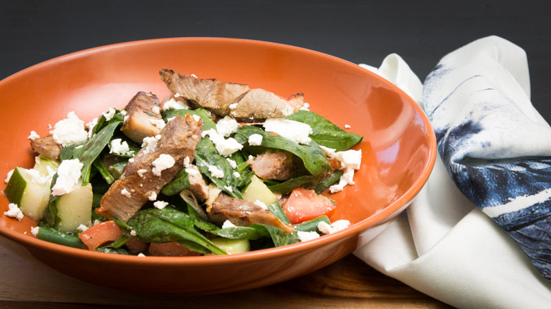074 - Greek Lamb Salad