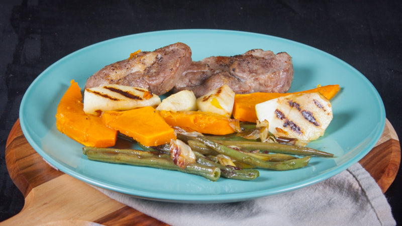 088 - Pork Tenderloin with Roasted Apples