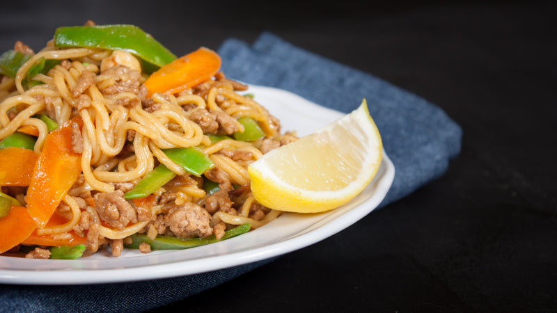 099 - Sweet Thai Pork and Noodle Stir Fry