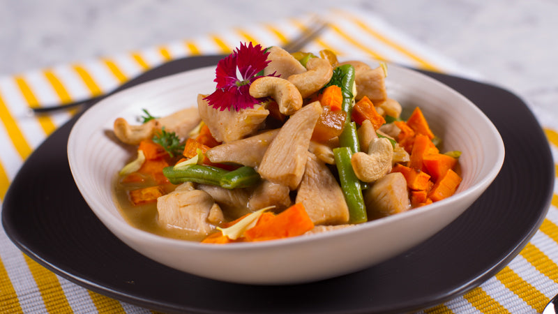 124 - Coconut Mango Cashew Chicken