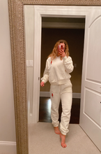 Load image into Gallery viewer, Wisconsin Cream Jogger Set