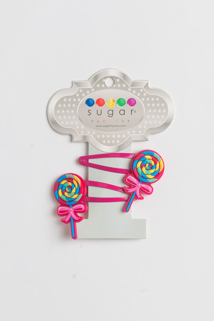 Lollipop Hair Clips