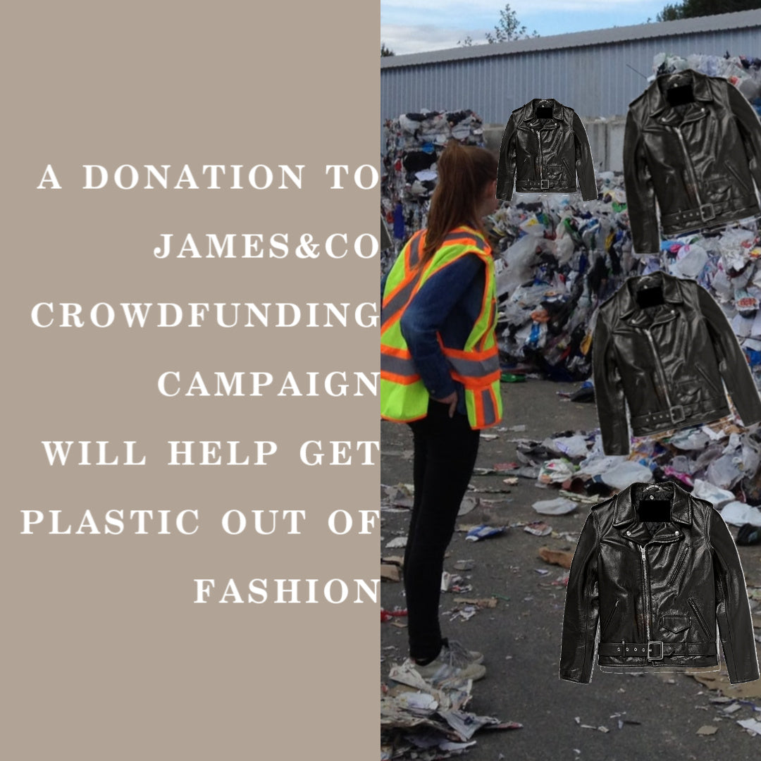 James&Co Is The Leading Apparel Brand To Ditch Toxic Faux Leather. Join Us In The Campaign