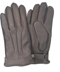 mens gloves in sustainable vegan leather
