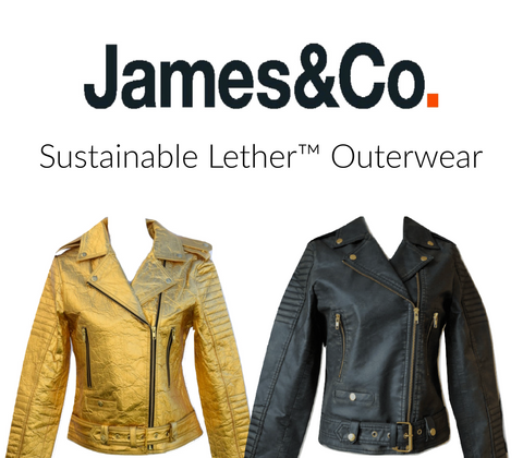 James&Co sustainable lether outerwear