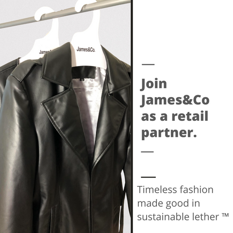 join james&Co as a retail partner