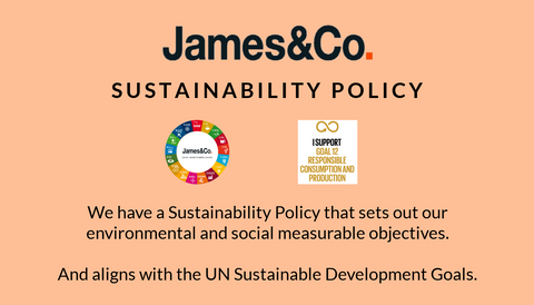 James&Co Sustainability Policy image