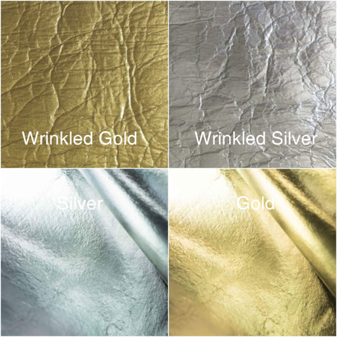 PInatex gold and silver colors