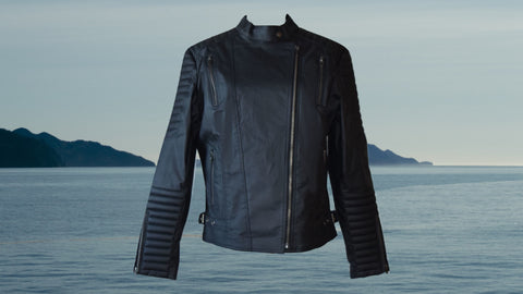 james&co eco leather jacket