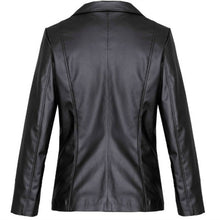 Load image into Gallery viewer, Eco Vegan Leather Blazer Joy