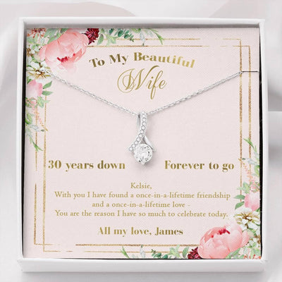 30th anniversary necklace