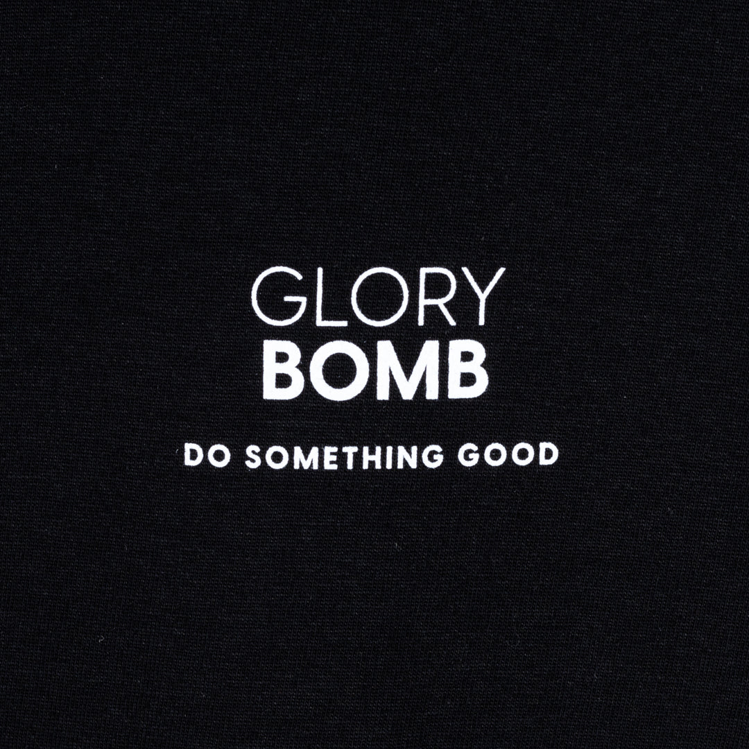 T-Shirt 'Glory Bomb' - Man - schwarz